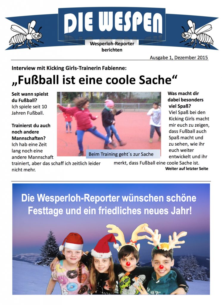 Zeitung Wespen